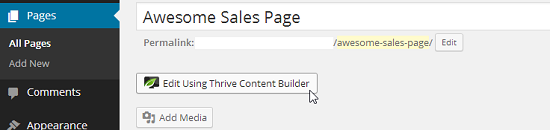 Content Builder By Thrive Themes