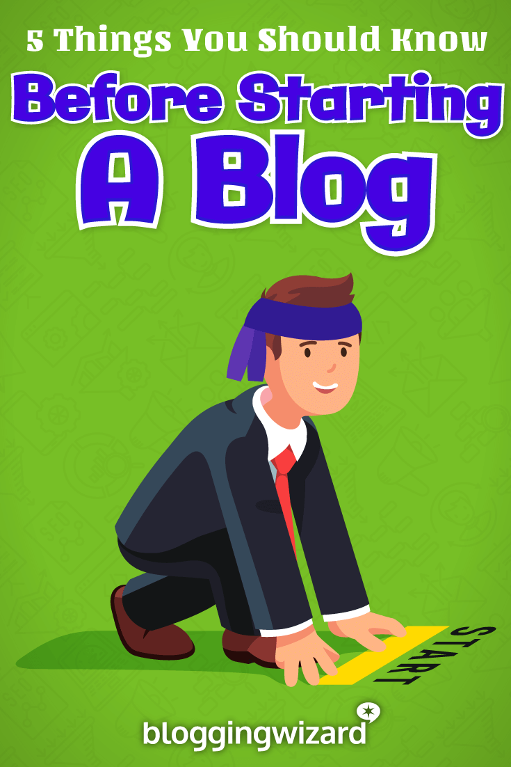 Before You Start A Blog