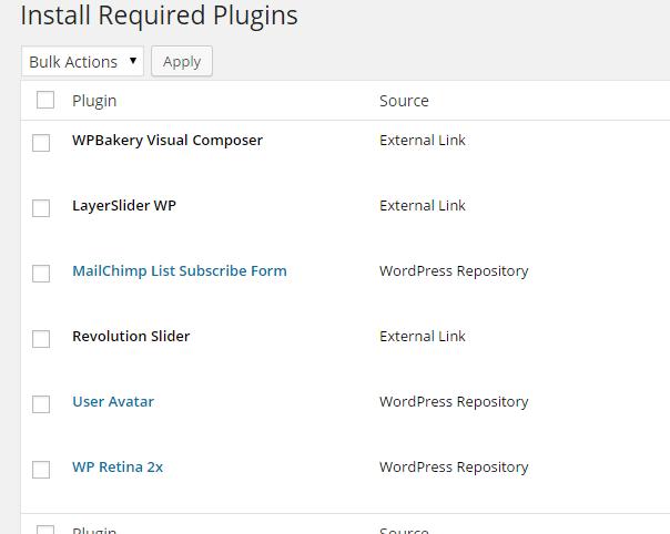 Specular Necessary Plugins