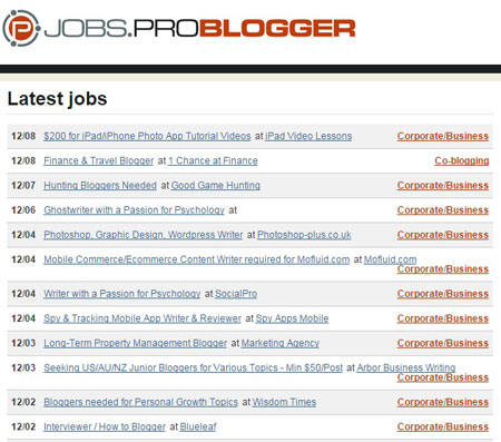 problogger jobs board