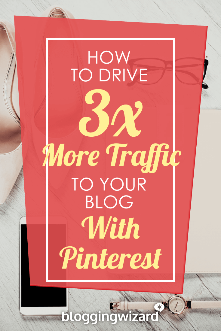 Want to triple your blog traffic with Pinterest? Sounds crazy but it's possible. Read this post to get started.