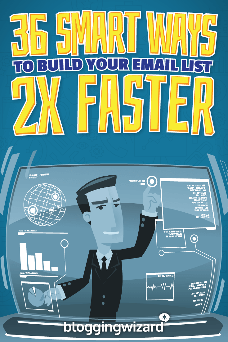 Want to grow your email list 2x faster? You can and this post will show you how. This is the last list building guide you'll ever need.