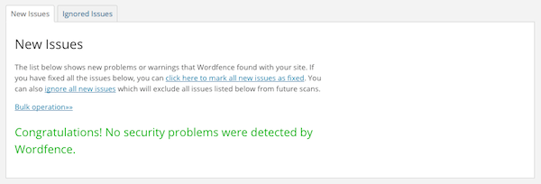 wf scan issues