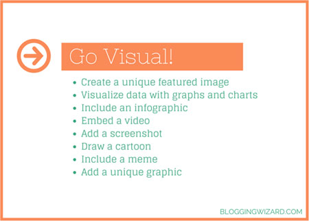Make Content Visual