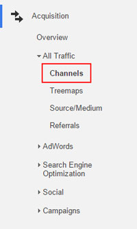 Tracking Channels