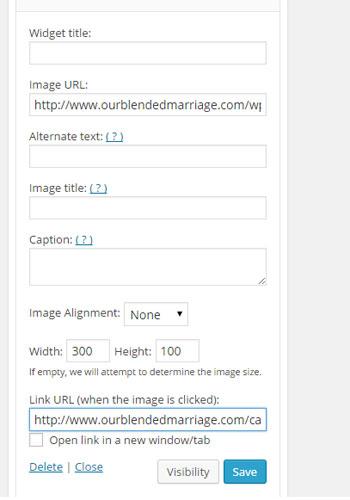 step 3 adding image widget