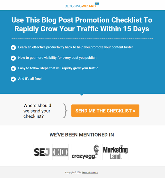 Use This Blog Post Promotion Checklist