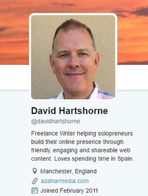 David Hartshorne Twitter