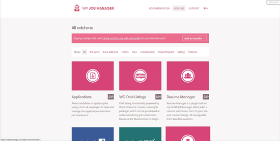 WP Job Manager Extensions