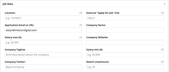 WorkScout Job Data