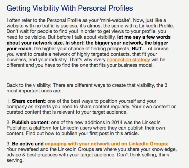 simplicity internal links example