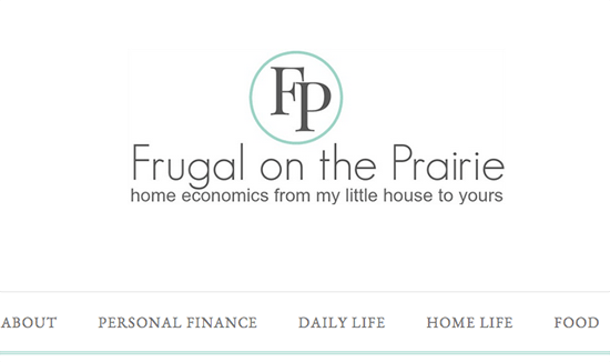 Frugal On The Prairie Old
