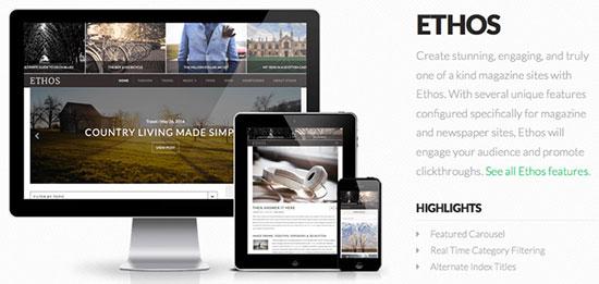 X Theme Ethos Stack