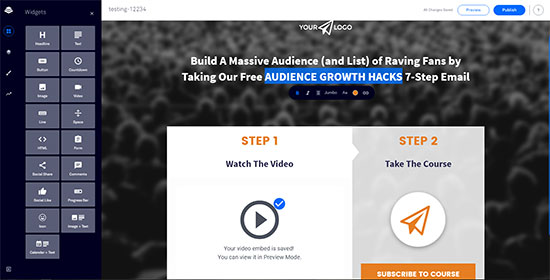 Create, Test And Monitor Landing Pages With LeadPages