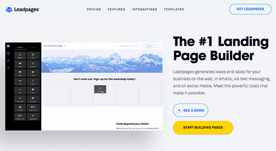Create A Sales Page With LeadPages