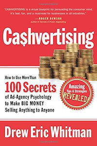 Cashvertising Title Example