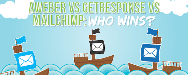 aweber getresponse mailchimp email marketing tools