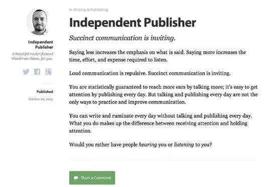 Editore indipendente