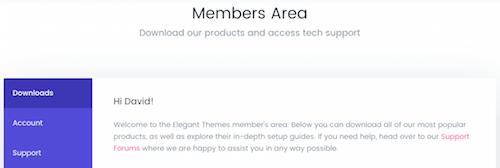 10 Membership Area