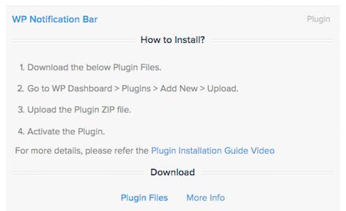 10 WP Notification Bar