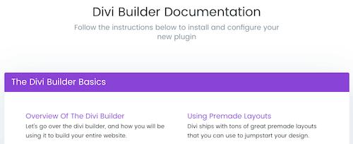14 Divi Builder Documentation