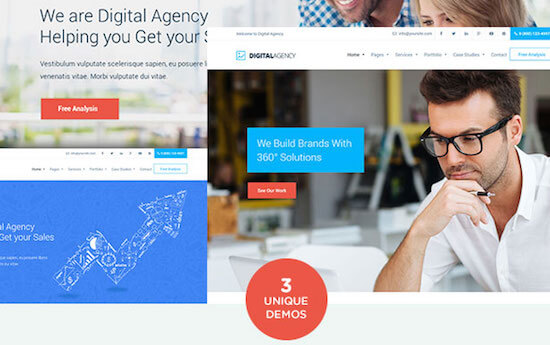 Digital Agency Demo