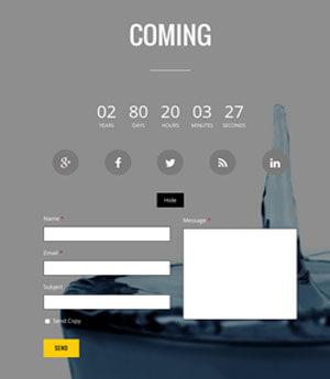 Landing Coming Soon