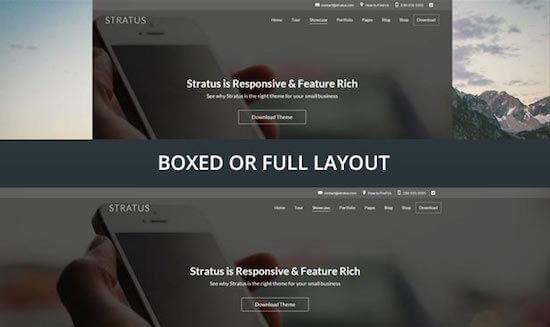 Stratus Boxed Full Layout