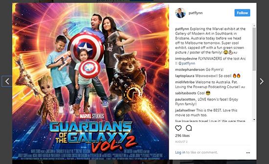 Pat Flynn Instagram Post