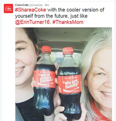 Coca Cola Tweet Example 5