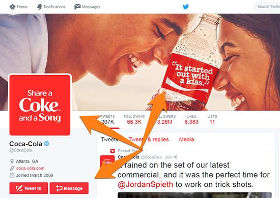 Coca Cola Tweet Example 7
