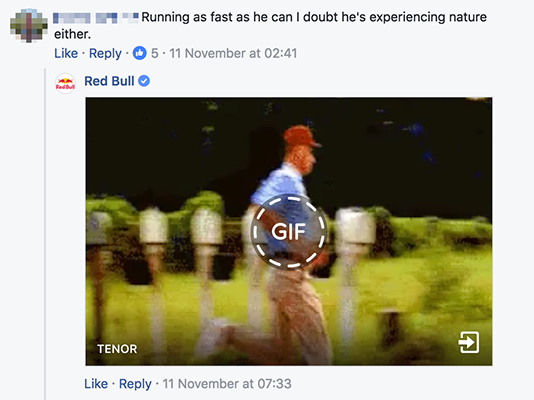 Red Bull Gif Example