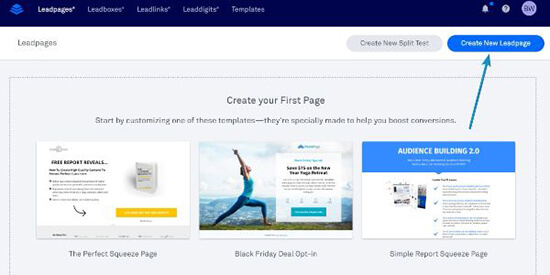 Size Comparison Leadpages