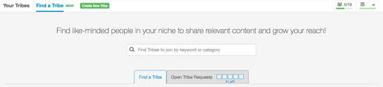 Find A Tribe 1