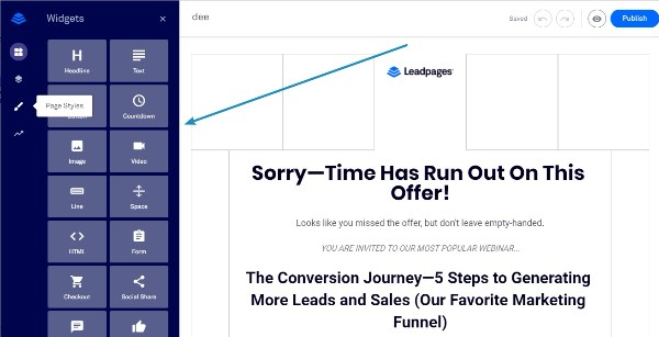Leadpages Grid Based System