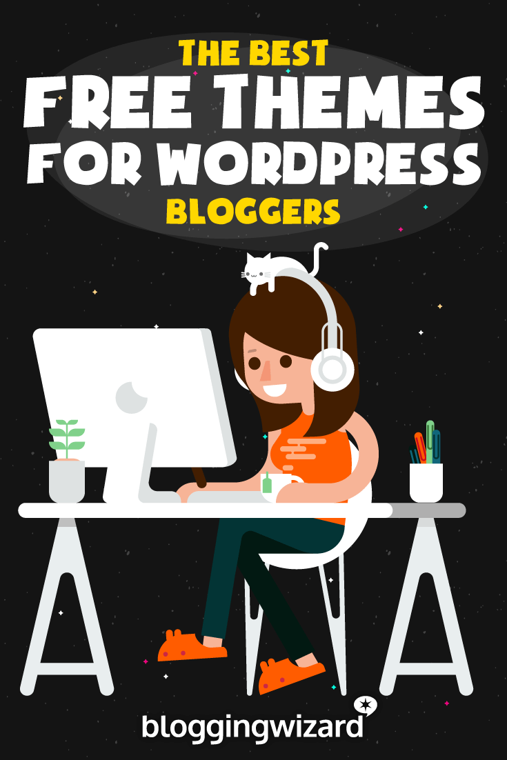 50 Free WordPress Themes For Bloggers And Businesses In 2019