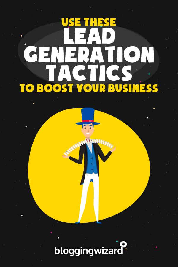 Business Lead Generation Tactics