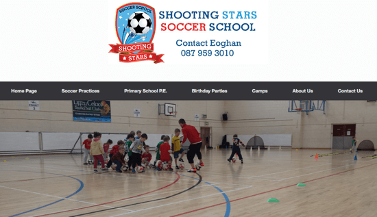 22 shooting star soccer school