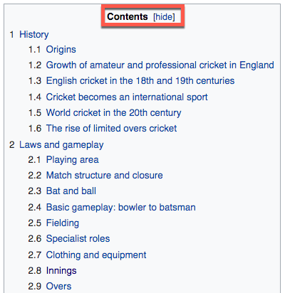 6b Wiki Cricket