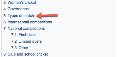 6c Wiki Cricket