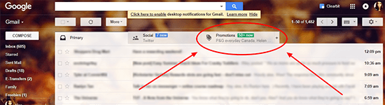 8 Gmail Promotions Tab
