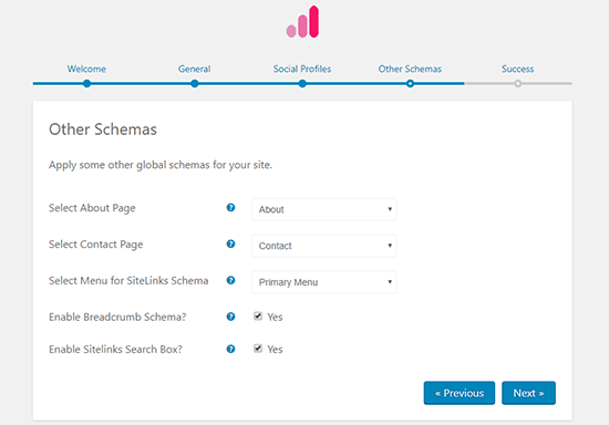 Other Schemas Settings Schema Pro Rich Snippets