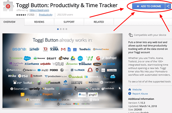 Time Tracking Apps Toggl