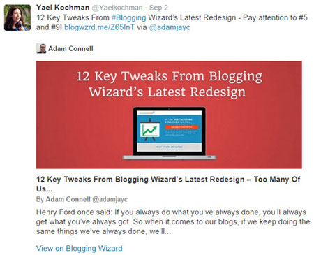Twitter Cards Example