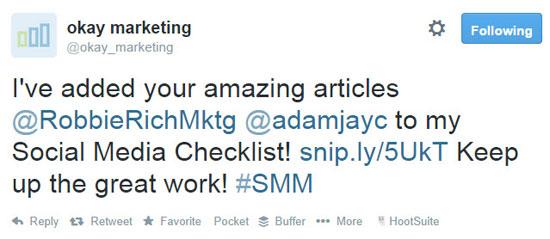 okay marketing link to influencers
