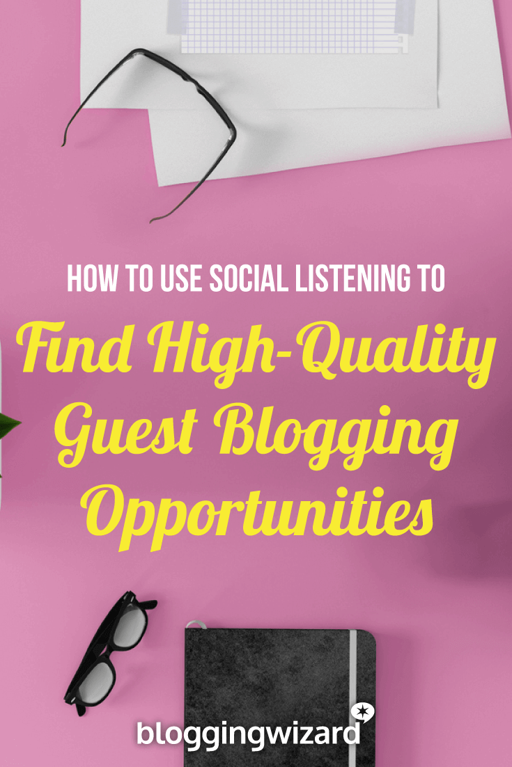 Want to find guest blogging opportunities your competitors don't know about? Here's an unconventional strategy for finding influential websites that usually fly under the radar. #blogging #socialmedia #marketing