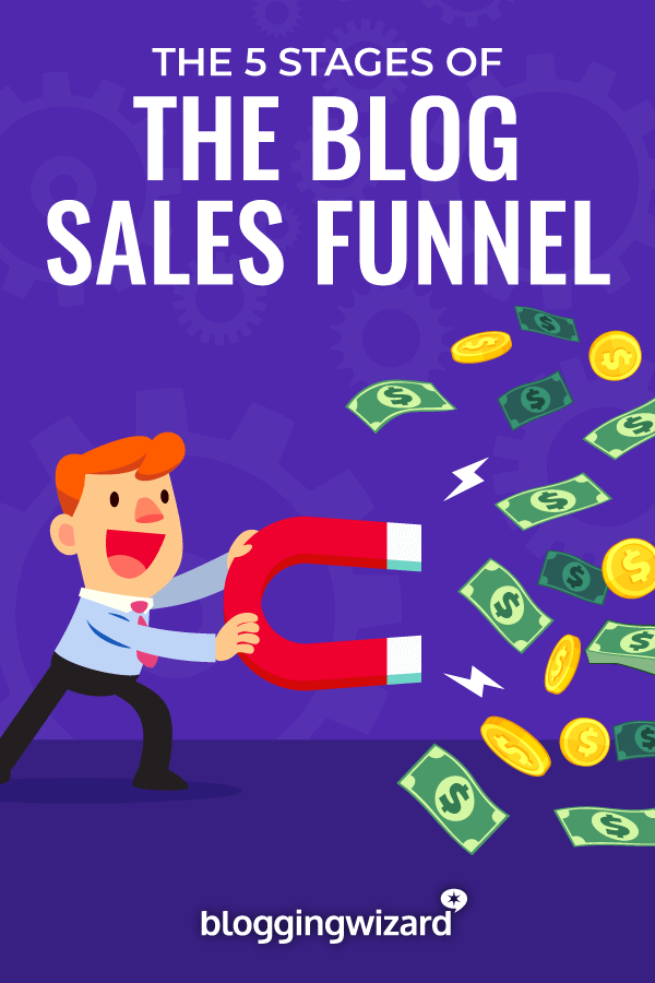 Stages Of The Blogging Sales Funnel