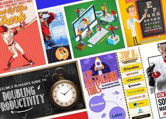 Blogging Wizard Custom Collage