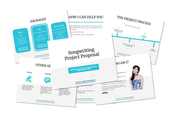 Freelance Project Proposal Template Cover Image
