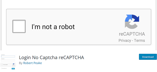 Login No Captcha reCAPTCHA